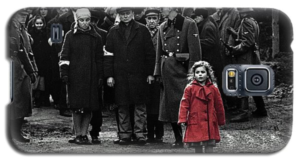 Girl With Red Coat Publicity Photo Schindlers List 1993 Galaxy S5 Case