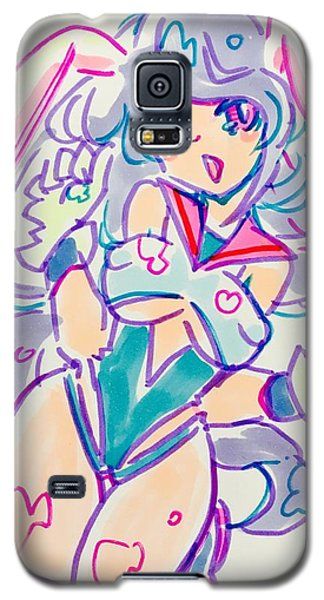 Girl02 Galaxy S5 Case