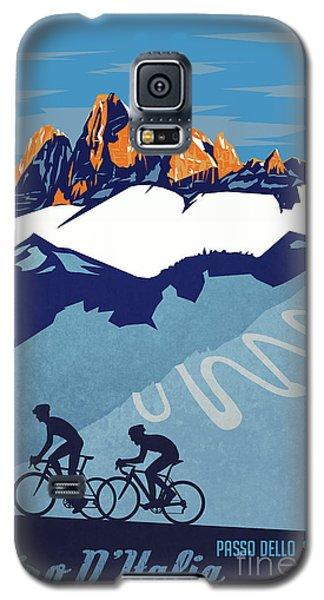 Giro D'italia Cycling Poster Galaxy S5 Case
