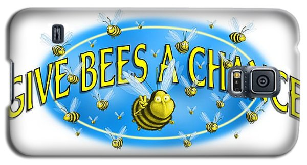 Give Bees A Chance Galaxy S5 Case