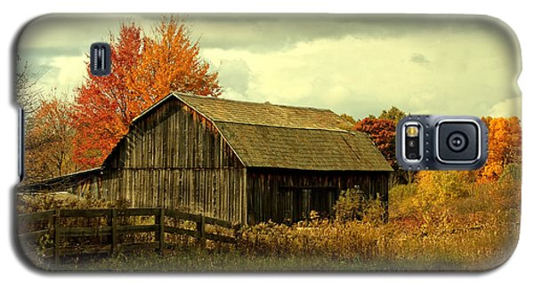 Galaxy S5 Case featuring the photograph Fall Has Always Been My Favorite Season. by Skip Tribby