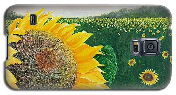 Galaxy S5 Case featuring the painting Giver Of Life by Susan DeLain