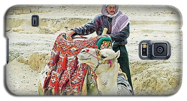 Giza Camel Taxi Galaxy S5 Case by Joseph Hendrix