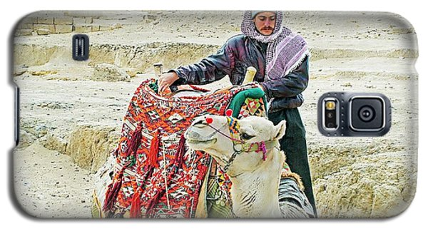 Giza Camel Taxi Galaxy S5 Case