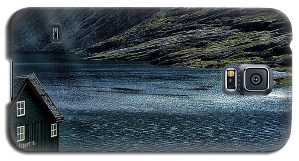 Galaxy S5 Case featuring the photograph Glacial Lake by Jim Hill