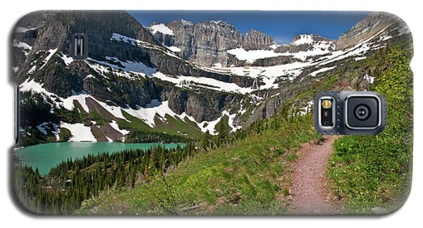Galaxy S5 Case featuring the photograph Glacier Backcountry Trail by Gary Lengyel