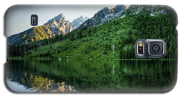 Galaxy S5 Case featuring the photograph Glacier Lake by Rebecca Hiatt