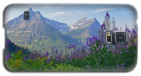 Glacier National Park Fireweed Galaxy S5 Case