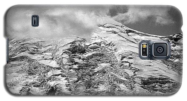 Galaxy S5 Case featuring the photograph Glacier On Mt Rainier by Lori Seaman