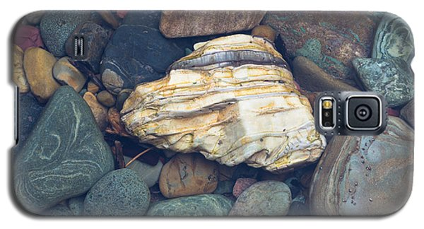 Glacier Park Creek Stones Submerged Galaxy S5 Case
