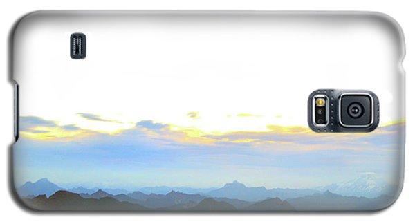 Glacier Peak At Sunrise Galaxy S5 Case