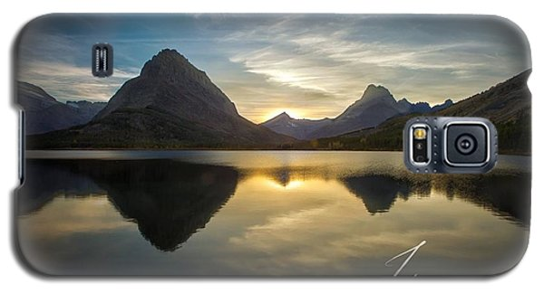 Glacier Sunset Galaxy S5 Case