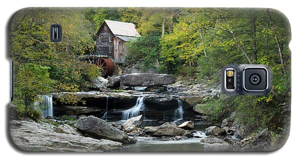 Galaxy S5 Case featuring the photograph Glade Creek Grist Mill by Ann Bridges