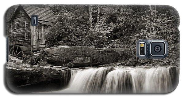 Glade Creek Grist Mill Monochrome Galaxy S5 Case