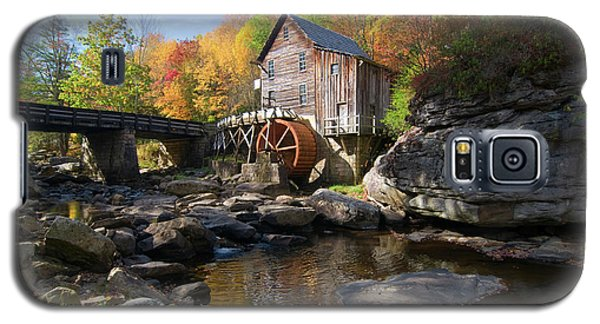 Galaxy S5 Case featuring the photograph Glade Creek Grist Mill by Steve Stuller