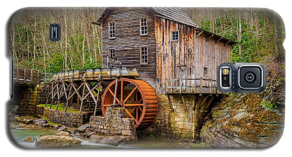 Galaxy S5 Case featuring the photograph Glade Creek Grist Mill by Steve Zimic