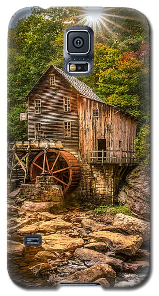 Glade Creek Mill Fall Galaxy S5 Case by Rebecca Hiatt