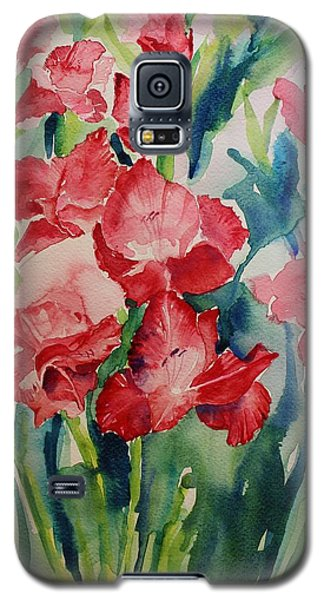 Gladioli Still Life Galaxy S5 Case