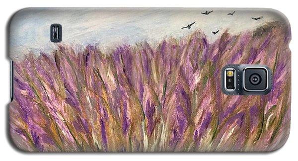 Gladiolus Field Galaxy S5 Case