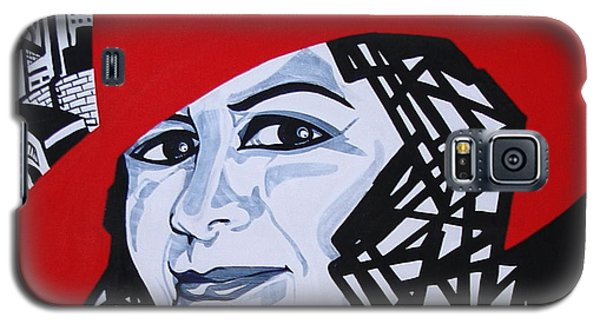 Glafira Rosales In The Red Hat Galaxy S5 Case