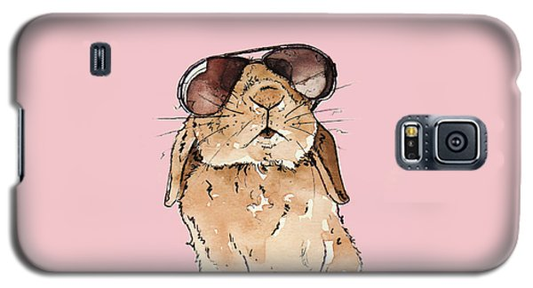 Rabbit Galaxy S5 Case - Glamorous Rabbit by Katrina Davis