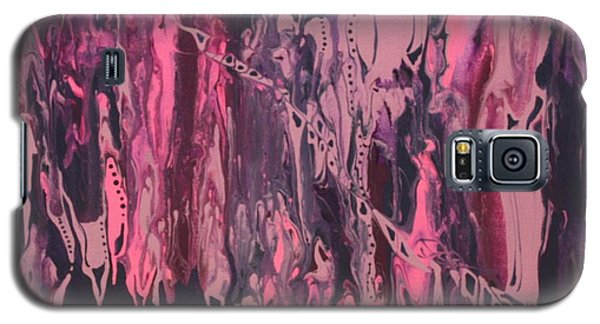 Galaxy S5 Case featuring the painting Glamour Puss by Pat Purdy