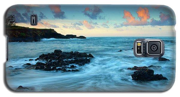 Seascape Galaxy S5 Cases - Glass Beach Dawn Galaxy S5 Case by Mike  Dawson
