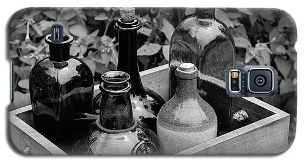 Glass Bottles In The Garden Galaxy S5 Case