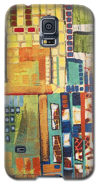 Galaxy S5 Case featuring the painting Glass Bottom Boeing by Donna Howard