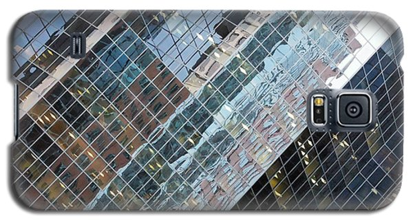 Glass Buildings 4 Galaxy S5 Case by Robert Knight