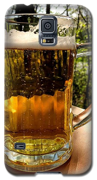Food And Beverage Galaxy S5 Case - Glass Of Beer by Matthias Hauser