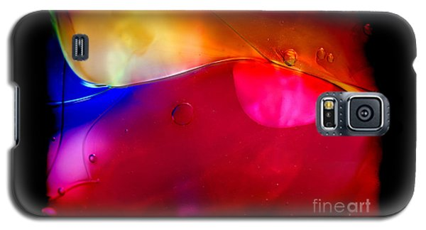 Glass Paint Abstract Dark Galaxy S5 Case