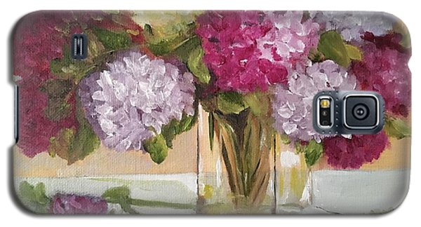 Galaxy S5 Case featuring the painting Glass Vase by Sharon Schultz