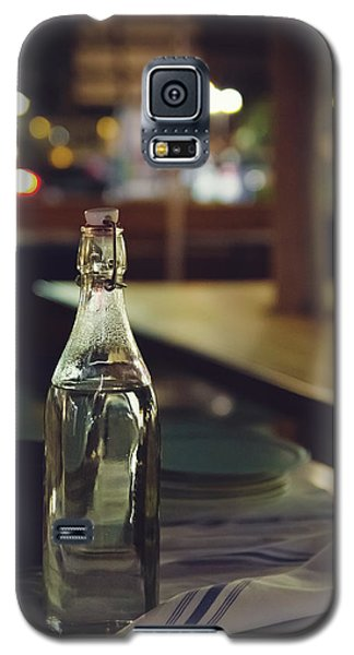 Glass Water Bottle Galaxy S5 Case by April Reppucci