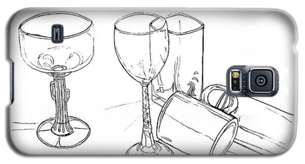 Glasses Galaxy S5 Case by Jean Haynes