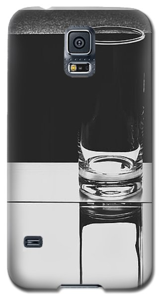 Glasses On A Table Bw Galaxy S5 Case