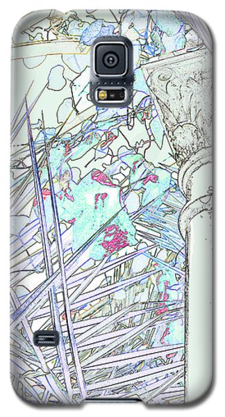 Galaxy S5 Case featuring the photograph Glasshouse Jungle by Nareeta Martin
