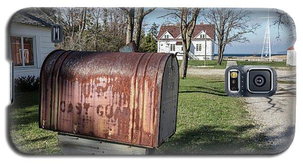 Galaxy S5 Case featuring the photograph Glen Arbor Coast Guard Mailbox by John McGraw