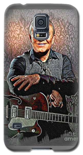 Glen Campbell - Singing Icon Galaxy S5 Case