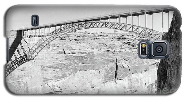 Glen Canyon Bridge Bw Galaxy S5 Case