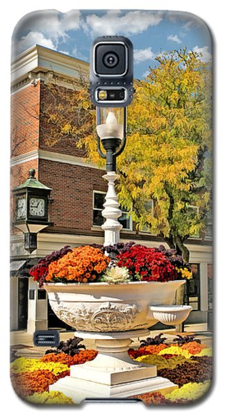 Galaxy S5 Case featuring the painting Glen Ellyn Watering Trough by Christopher Arndt