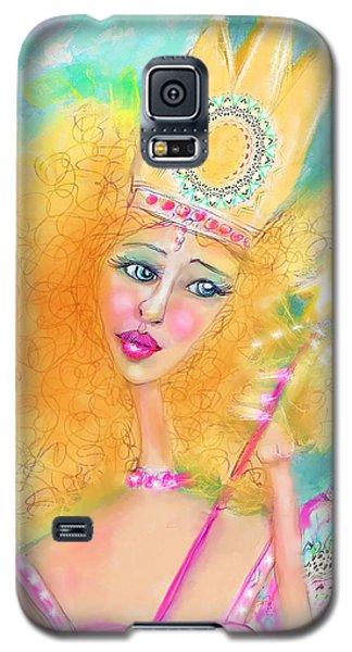 Galaxy S5 Case featuring the digital art Glenda by Kari Nanstad