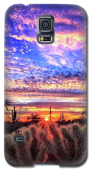 Glimmering Skies Galaxy S5 Case