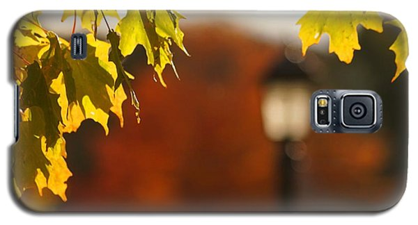 Galaxy S5 Case featuring the photograph Glimpse Of Autumn by Aimelle
