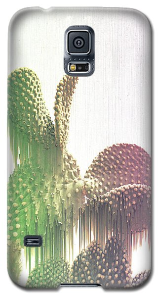 Glitch Cactus Galaxy S5 Case