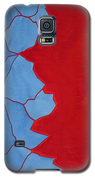 Glitch In The Matrix Original Painting Galaxy S5 Case
