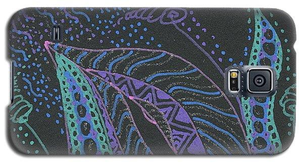 Glitter Flower Galaxy S5 Case