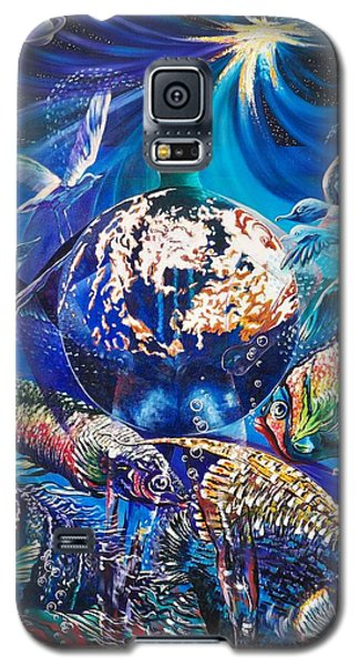 Planet  Earth - Our Family Tree Galaxy S5 Case