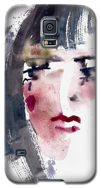 Gloomy Woman  Galaxy S5 Case by Faruk Koksal