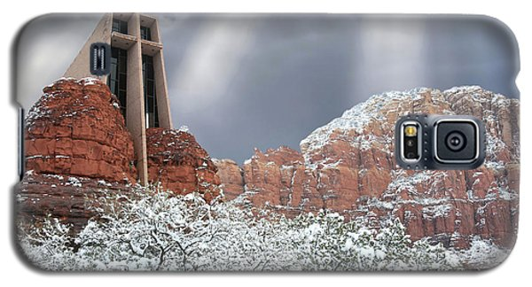 Galaxy S5 Case featuring the photograph Glorious Chapel Of The Holy Cross by Donna Kennedy